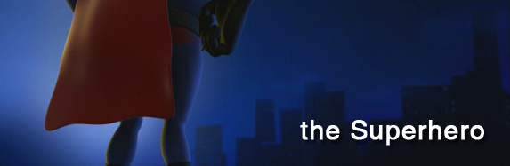 my 3d animated short – the Superhero